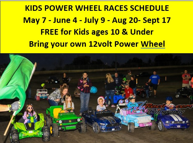 Power Wheel Schedule 2021