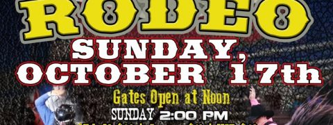 Rodeo Sunday, Oct 17th Poster